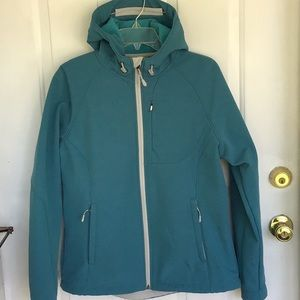 Teal Hip Length Mid Weight Jacket